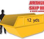 12 yard Local Skip Hire