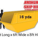 16 yard Local Skip Hire 1