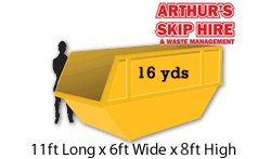 16 yard Local Skip Hire