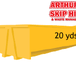 20 Yard Local Skip Hire please ring for a quote 1