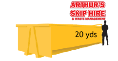 20 Yard Local Skip Hire please ring for a quote