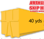 40 Yard Local Skip Hire please ring for a quote 1
