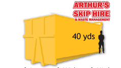 40 Yard Local Skip Hire please ring for a quote
