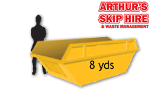 8 yard Local Skip Hire